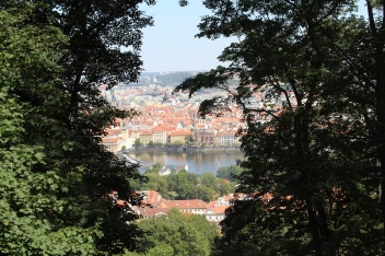 Prague from Mountain