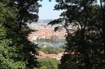 Prague from Mountain